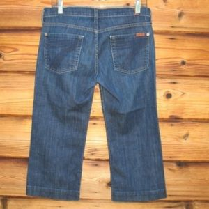 7 for all mankind 7FAM Cropped Dojo Jeans 29